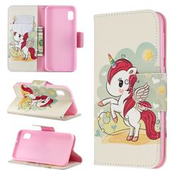 Cloud Star Unicorn Leather Wallet Case for Samsung Galaxy A10e