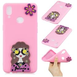 Violet Girl Soft 3D Silicone Case for Samsung Galaxy A10s