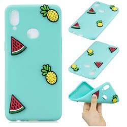 Watermelon Pineapple Soft 3D Silicone Case for Samsung Galaxy A10s