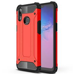 King Kong Armor Premium Shockproof Dual Layer Rugged Hard Cover for Samsung Galaxy A10s - Big Red