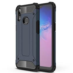 King Kong Armor Premium Shockproof Dual Layer Rugged Hard Cover for Samsung Galaxy A10s - Navy