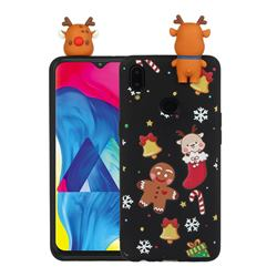 Gift Snow Christmas Xmax Soft 3D Doll Silicone Case for Samsung Galaxy A10s