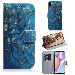 Apricot Tree PU Leather Wallet Case for Samsung Galaxy A10s