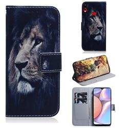 Lion Face PU Leather Wallet Case for Samsung Galaxy A10s