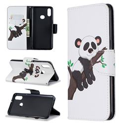 Tree Panda Leather Wallet Case for Samsung Galaxy A10s