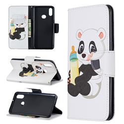 Baby Panda Leather Wallet Case for Samsung Galaxy A10s