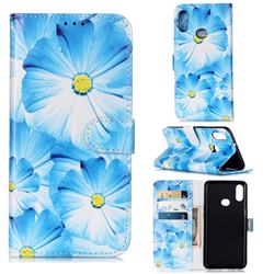 Orchid Flower PU Leather Wallet Case for Samsung Galaxy A10s