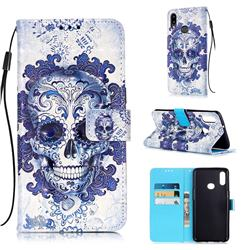 Cloud Kito 3D Painted Leather Wallet Case for Samsung Galaxy A10s