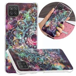 Datura Flowers Noctilucent Soft TPU Back Cover for Samsung Galaxy A12