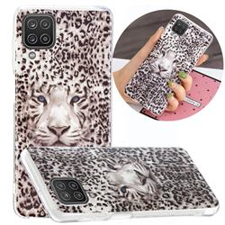 Leopard Tiger Noctilucent Soft TPU Back Cover for Samsung Galaxy A12