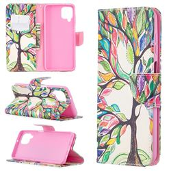 The Tree of Life Leather Wallet Case for Samsung Galaxy A12