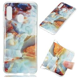 Fire Cloud Soft TPU Marble Pattern Phone Case for Samsung Galaxy A20e