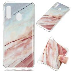 Elegant Soft TPU Marble Pattern Phone Case for Samsung Galaxy A20e