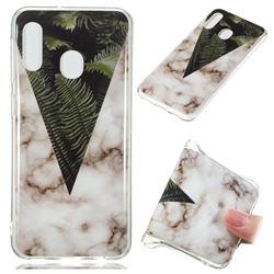 Leaf Soft TPU Marble Pattern Phone Case for Samsung Galaxy A20e