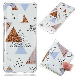 Hill Soft TPU Marble Pattern Phone Case for Samsung Galaxy A20e