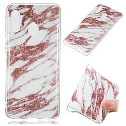 Rose Gold Grain Soft TPU Marble Pattern Phone Case for Samsung Galaxy A20e