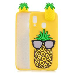 Big Pineapple Soft 3D Climbing Doll Soft Case for Samsung Galaxy A20e