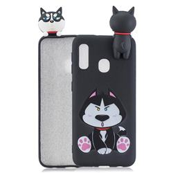 Staying Husky Soft 3D Climbing Doll Soft Case for Samsung Galaxy A20e