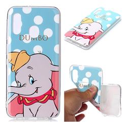 Dumbo Elephant Soft TPU Cell Phone Back Cover for Samsung Galaxy A20e