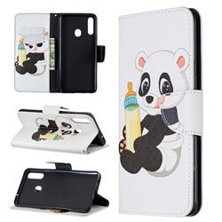 Baby Panda Leather Wallet Case for Samsung Galaxy A20s