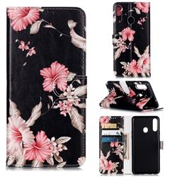 Azalea Flower PU Leather Wallet Case for Samsung Galaxy A20s