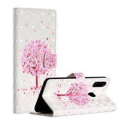 Sakura Flower Tree 3D Painted Leather Phone Wallet Case for Samsung Galaxy A20s
