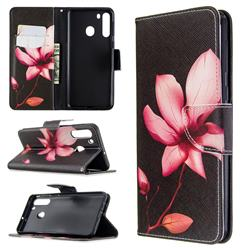 Lotus Flower Leather Wallet Case for Samsung Galaxy A21