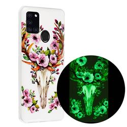 Sika Deer Noctilucent Soft TPU Back Cover for Samsung Galaxy A21s