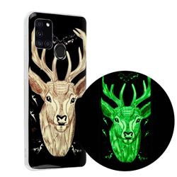 Fly Deer Noctilucent Soft TPU Back Cover for Samsung Galaxy A21s
