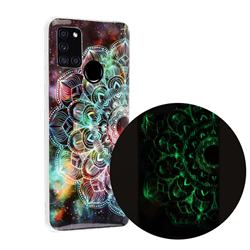 Datura Flowers Noctilucent Soft TPU Back Cover for Samsung Galaxy A21s