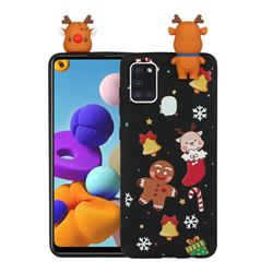 Gift Snow Christmas Xmax Soft 3D Doll Silicone Case for Samsung Galaxy A21s