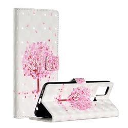 Sakura Flower Tree 3D Painted Leather Phone Wallet Case for Samsung Galaxy A21s