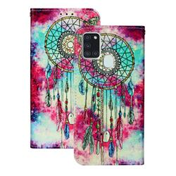 Butterfly Chimes PU Leather Wallet Case for Samsung Galaxy A21s