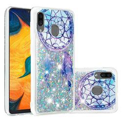 Fantasy Wind Chimes Dynamic Liquid Glitter Quicksand Soft TPU Case for Samsung Galaxy A30