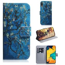 Apricot Tree PU Leather Wallet Case for Samsung Galaxy A30