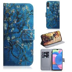 Apricot Tree PU Leather Wallet Case for Samsung Galaxy A30s