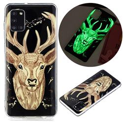 Fly Deer Noctilucent Soft TPU Back Cover for Samsung Galaxy A31