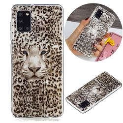 Leopard Tiger Noctilucent Soft TPU Back Cover for Samsung Galaxy A31