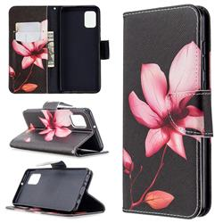 Lotus Flower Leather Wallet Case for Samsung Galaxy A31