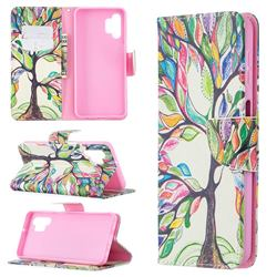 The Tree of Life Leather Wallet Case for Samsung Galaxy A32 5G