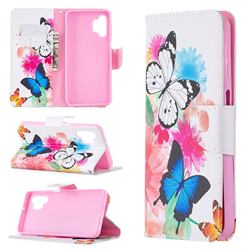 Vivid Flying Butterflies Leather Wallet Case for Samsung Galaxy A32 5G
