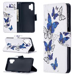 Flying Butterflies Leather Wallet Case for Samsung Galaxy A32 5G