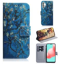 Apricot Tree PU Leather Wallet Case for Samsung Galaxy A32 5G