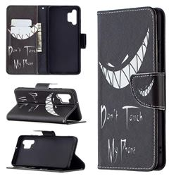 Crooked Grin Leather Wallet Case for Samsung Galaxy A32 4G