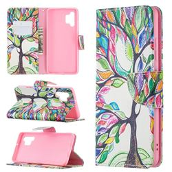 The Tree of Life Leather Wallet Case for Samsung Galaxy A32 4G