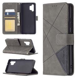 Binfen Color BF05 Prismatic Slim Wallet Flip Cover for Samsung Galaxy A32 4G - Gray