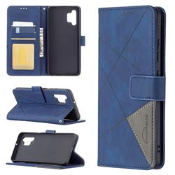 Binfen Color BF05 Prismatic Slim Wallet Flip Cover for Samsung Galaxy A32 4G - Blue