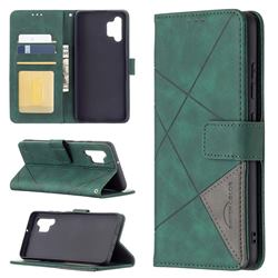 Binfen Color BF05 Prismatic Slim Wallet Flip Cover for Samsung Galaxy A32 4G - Green
