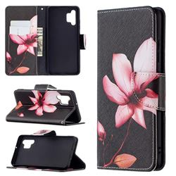 Lotus Flower Leather Wallet Case for Samsung Galaxy A32 4G