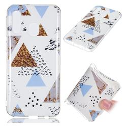 Hill Soft TPU Marble Pattern Phone Case for Samsung Galaxy A40